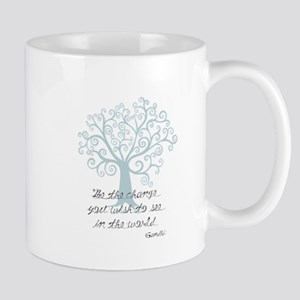 Be the Change Tree Mug