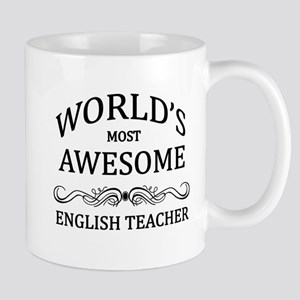World's Most Awesome English Teacher Mug
