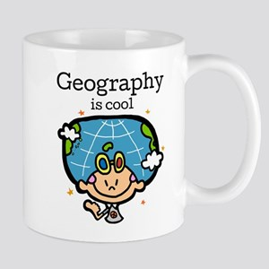 Geography is Cool Small Mugs