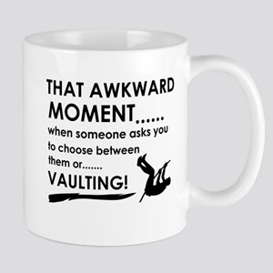 Awkward moment vaulting designs Mug