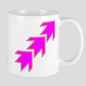 Pink Arrows Mugs