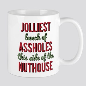 Jolliest Bunch of Assholes Mugs