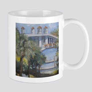 St Augustine Bridge of Lions Mugs