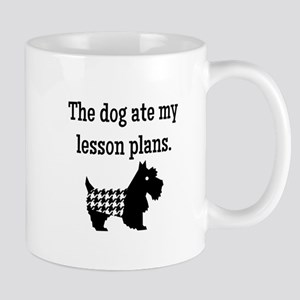Dog Ate My Lesson Plans Mugs