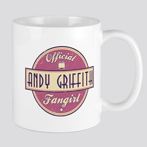 Official Andy Griffith Fangirl Mug