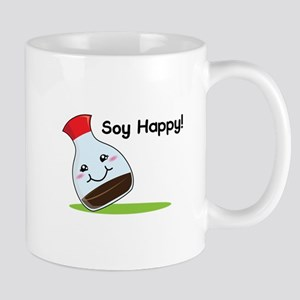 Soy Happy Mugs