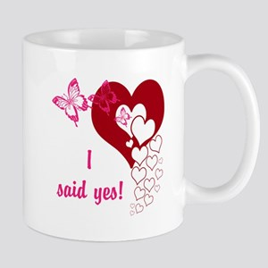 I Said Yes Mugs