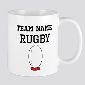 (Team Name) Rugby Mugs