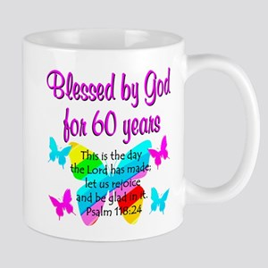 REJOICING 60TH Mug