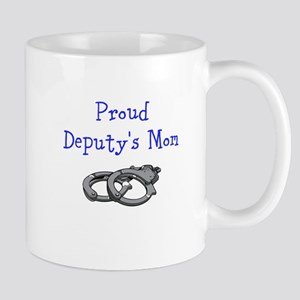 Proud Deputys Mom Mugs
