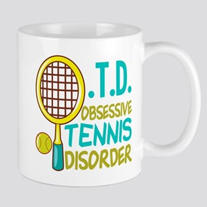 Funny Tennis 11 oz Ceramic Mug