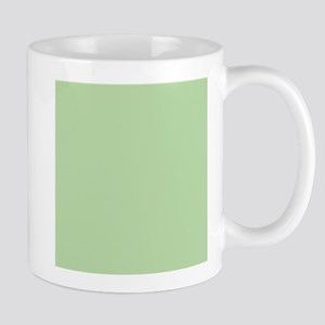 Sage Green solid color Mugs