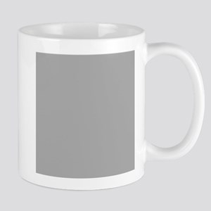 Grey Solid Color Mugs