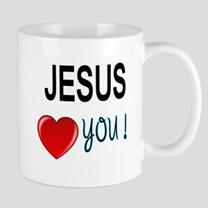 Jesus loves you Mugs