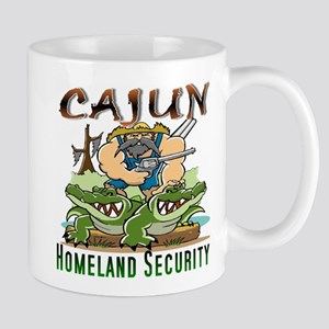 Cajun Homeland Security Mugs