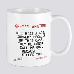 Greys Anatomy Cristina Yang Mugs