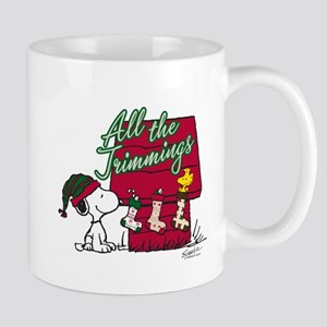 Snoopy: All the Trimmings Mug