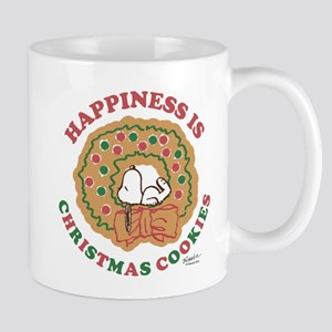 Snoopy:Hapiness is Christmas Cookies Mug