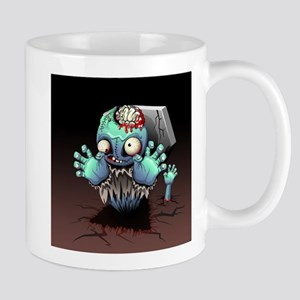 Zombie Monster Cartoon Mugs