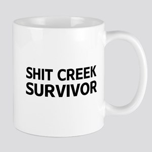 Shit Creek Survivor Mugs