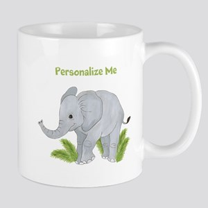 Personalized Elephant Mug