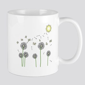 We are all just fluff in the wind Mugs