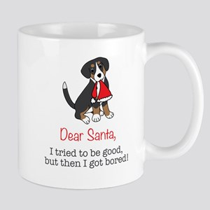 Dear Santa, I tried to be good! Mugs