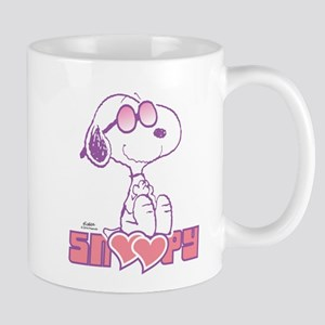Snoopy Hearts Mugs