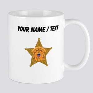 Deputy Sheriff Badge (Custom) Mugs