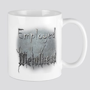 Employed Metalhead Mug