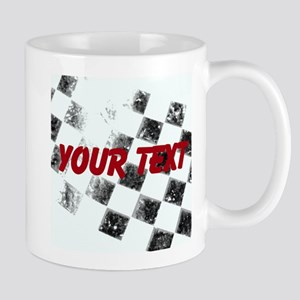 Checkered Flag Mugs