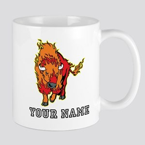Fire Bison (Custom) Mugs