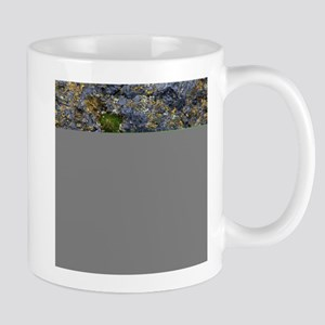 Obsidian and Lichen Mugs
