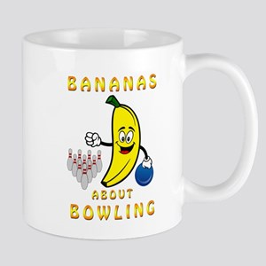 Bananas About Bowling Mugs