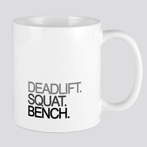 Deadlift Squat Bench Mugs