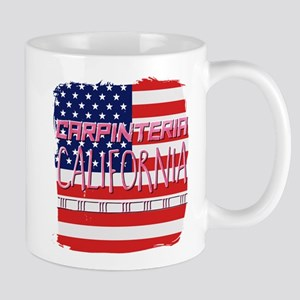 Carpinteria California Mugs