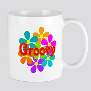 Fun Groovy Flowers Mugs