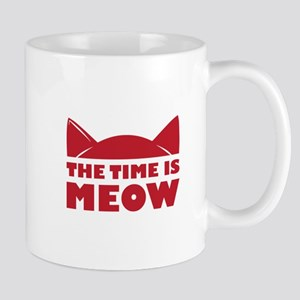 Time Is Meow Mugs
