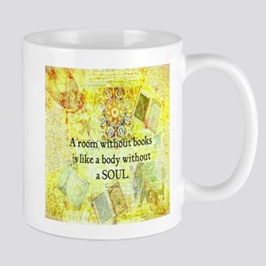 Book Reading Books quote Mugs
