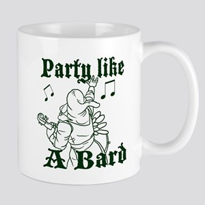 Party Like a Bard Mugs