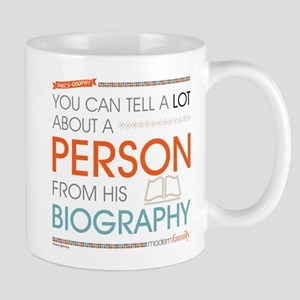Modern Family Philsosophy Biography Mug
