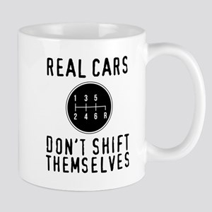 Real Cars Don't Shift Themselves Mugs