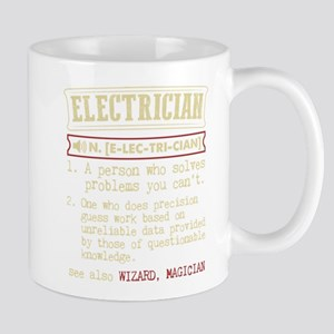 Electrician Funny Dictionary Term Mugs