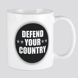 Defend Your Country Mugs