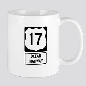 US Route 17 Ocean Highway Mugs