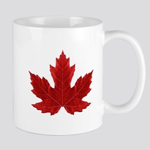 Red Maple Leaf Mugs
