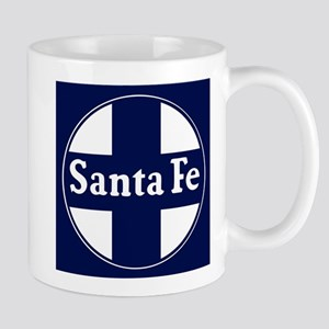 Santa Fe Railroad - background Mugs