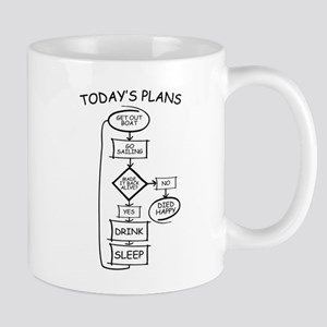 Sailing Humor Flow Chart Mugs