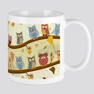 Autumn Owls Mugs