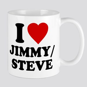 I Love Jimmy/Steve Mug